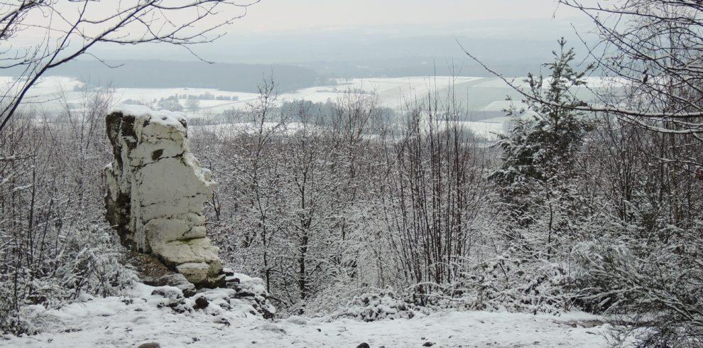 Wéris neige